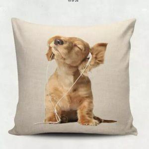 HOST PICK Dog pillowcase Accent throw pillow home
